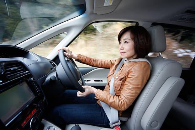 トランパスmpZをインプレッション中の飯田裕子