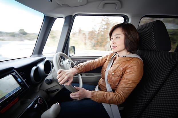 トランパスLuKをインプレッション中の飯田裕子