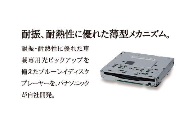 パナソニックが開発した車載専用光ピックアップを備えたブルーレイディスクプレイヤーのハードディスク