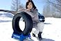 トーヨータイヤ ウインタートランパスTX 北海道で飯田裕子が大学生自動車部と雪道インプレッション!