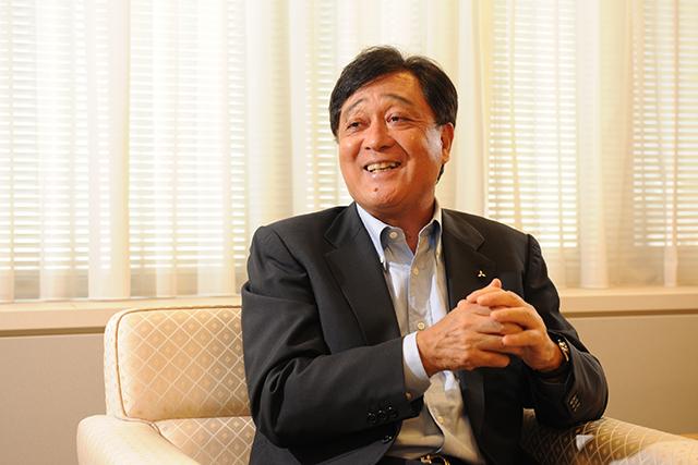 社長に訊く -三菱自動車工業株式会社 取締役社長 益子 修-