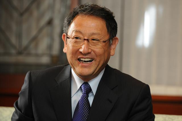 社長に訊く ~トヨタ自動車株式会社 代表取締役社長 豊田章男~