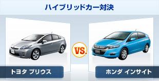 日本を代表するハイブリッド車、トヨタ プリウスとホンダ インサイトのユーザー試乗レビューの比較です。