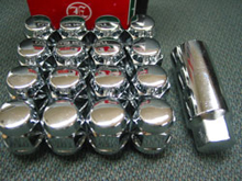 袋ナット(4穴16ヶ)・ロングアダプター