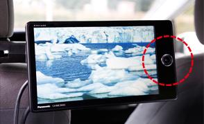 リアモニターはカメラ付き後席をフロントのナビに映し出すこともできる