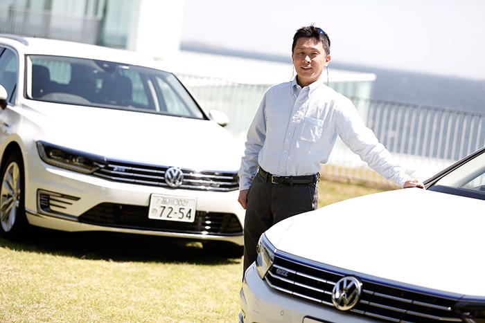 モータージャーナリストの桂伸一さん