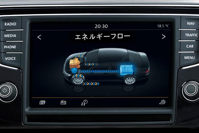 """フォルクスワーゲン パサート GTE /純正インフォテイメントシステム""""Discover Pro""""(SSDナビゲーションシステム)"""