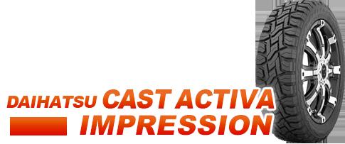 DAIHATSU CAST ACTIVA IMPRESSION